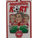 Spillekort med fodbold landsholdet