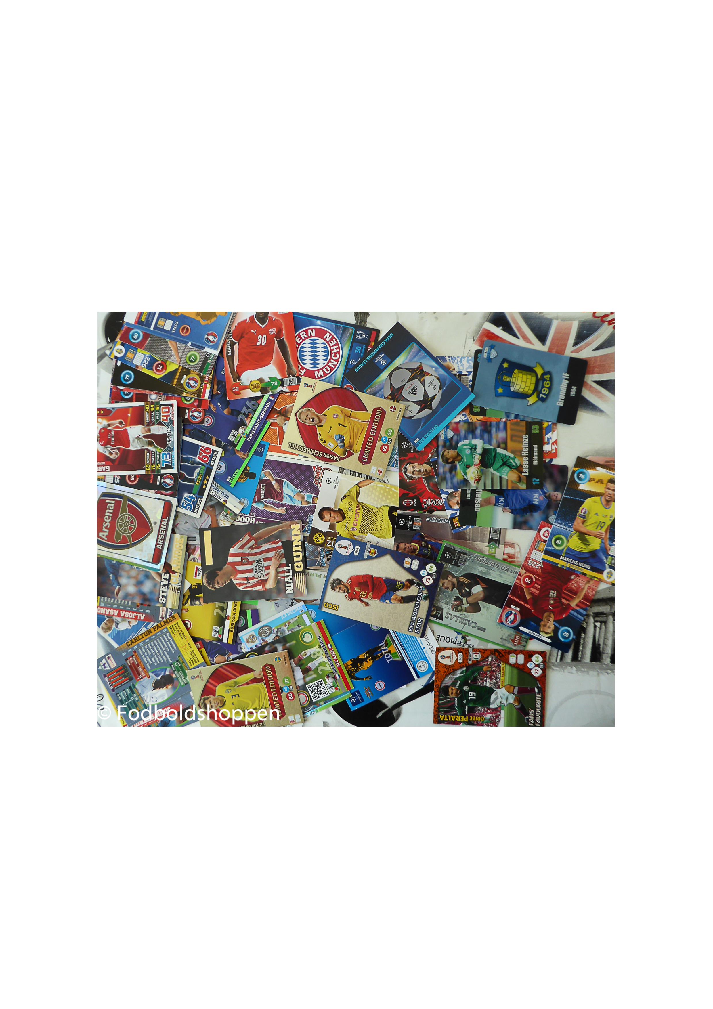 Fodboldkort, samlekort, Fodboldmærker