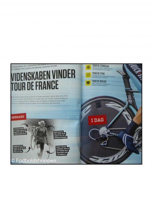 Illustreret Videnskab 10/2017 med 8 sider om cykling