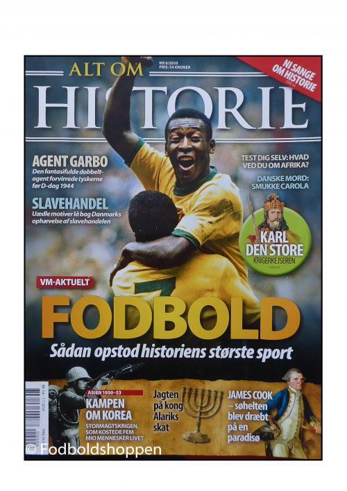 Alt om historie magasin 06/201 - 6 sider om Fodboldens historie