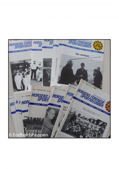 HFS medlemsblade fra 1980erne