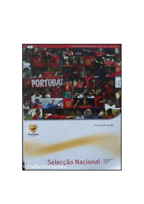 Euro 2004 - Officielt hæfte om det Portugals hold