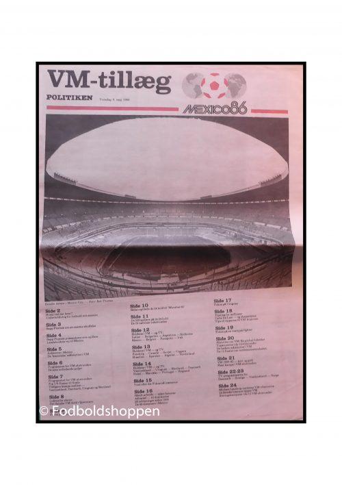 Politikken VM guide 1986