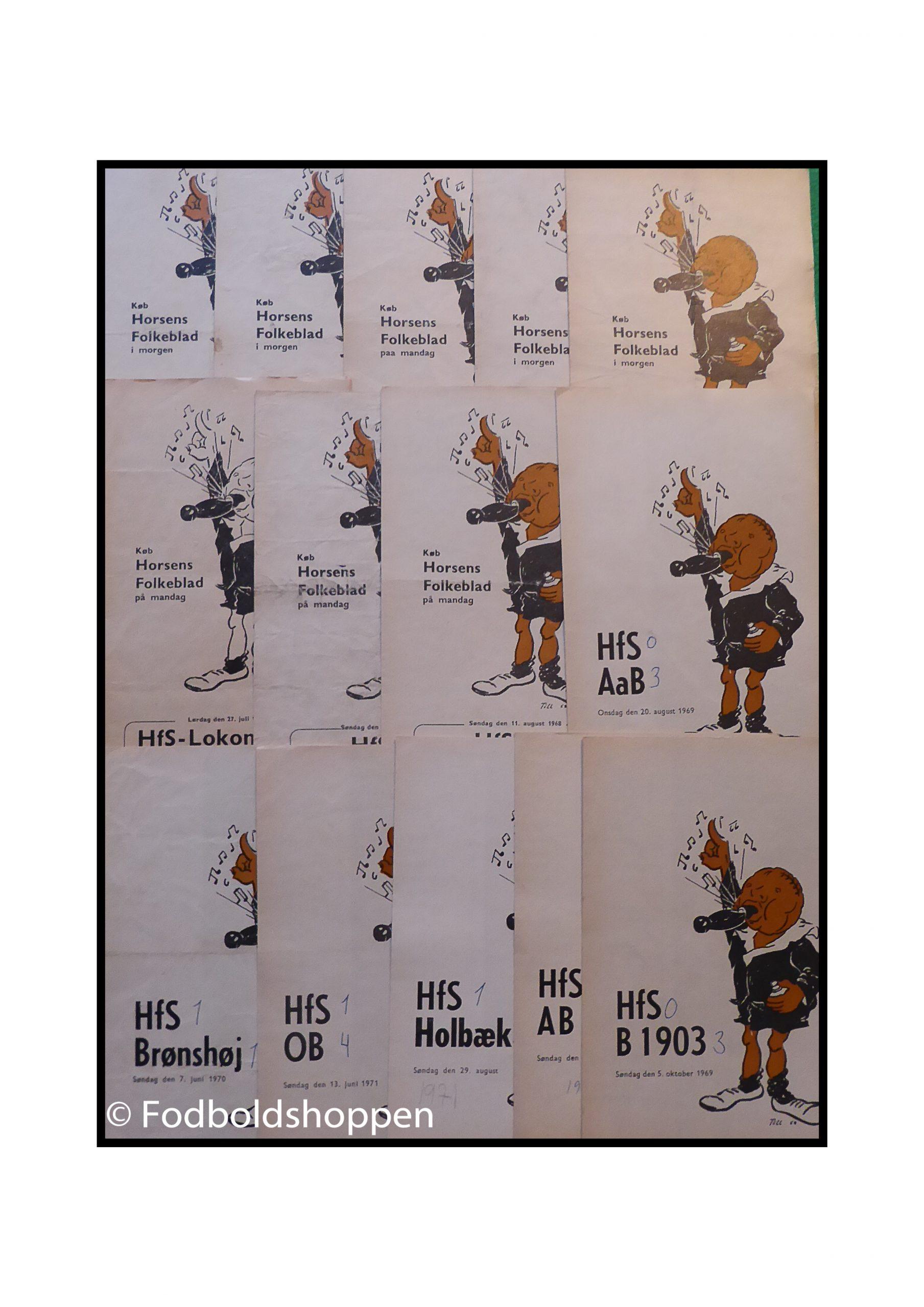 Gamle HFS kampprogrammer