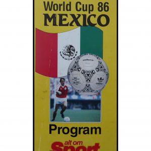 World Cup 86 – Mini program fra alt om sport