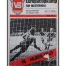 Vejle Boldklub - Hajduk Split 24/10-1979