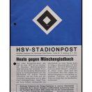 Kampprogram : Hamburger SV - Borussia Mönchengladbach 1975