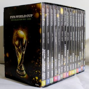 FIFA World Cup – DVD Collection ( 15 DVD'er)
