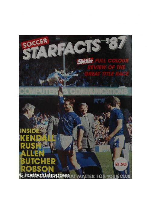 Soccer starfacts 87 - Review of the great titel race