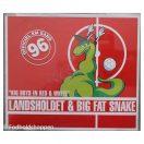CD Single - Big Fat Snake & Landsholdet - Big boys in red & White