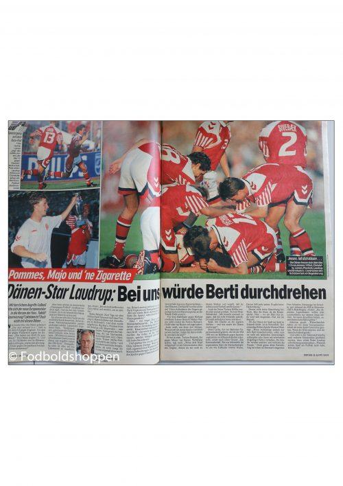Kicker EM 1992 - TV Guide + Magasin om Danmarks triumf