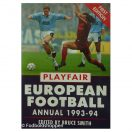 Playfair European Football Annual 1993-94