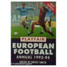 Playfair European Football Annual 1993-94