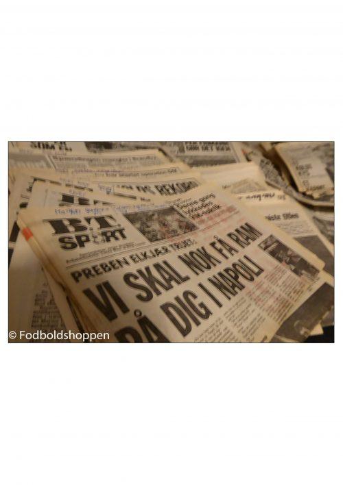 Cirka 300 sportstillæg fra B.T. og Aktuelt fra 1 Juli - 31 Dec - 1984