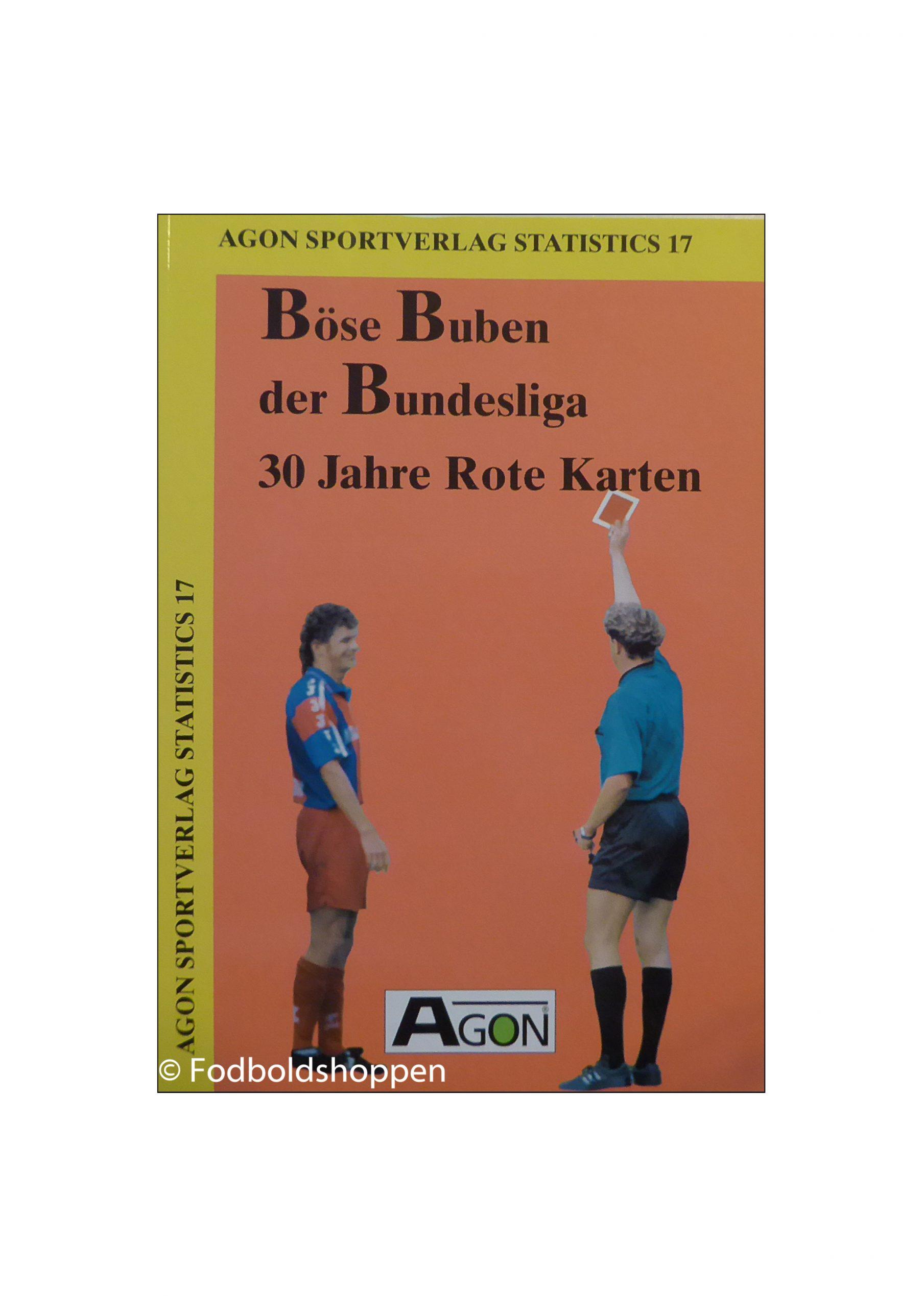 30 år med røde kort. Denne bog fokuserer på de røde syndere i Bundesliga. Alle kan findes, angivet med navn, klubber og årstider