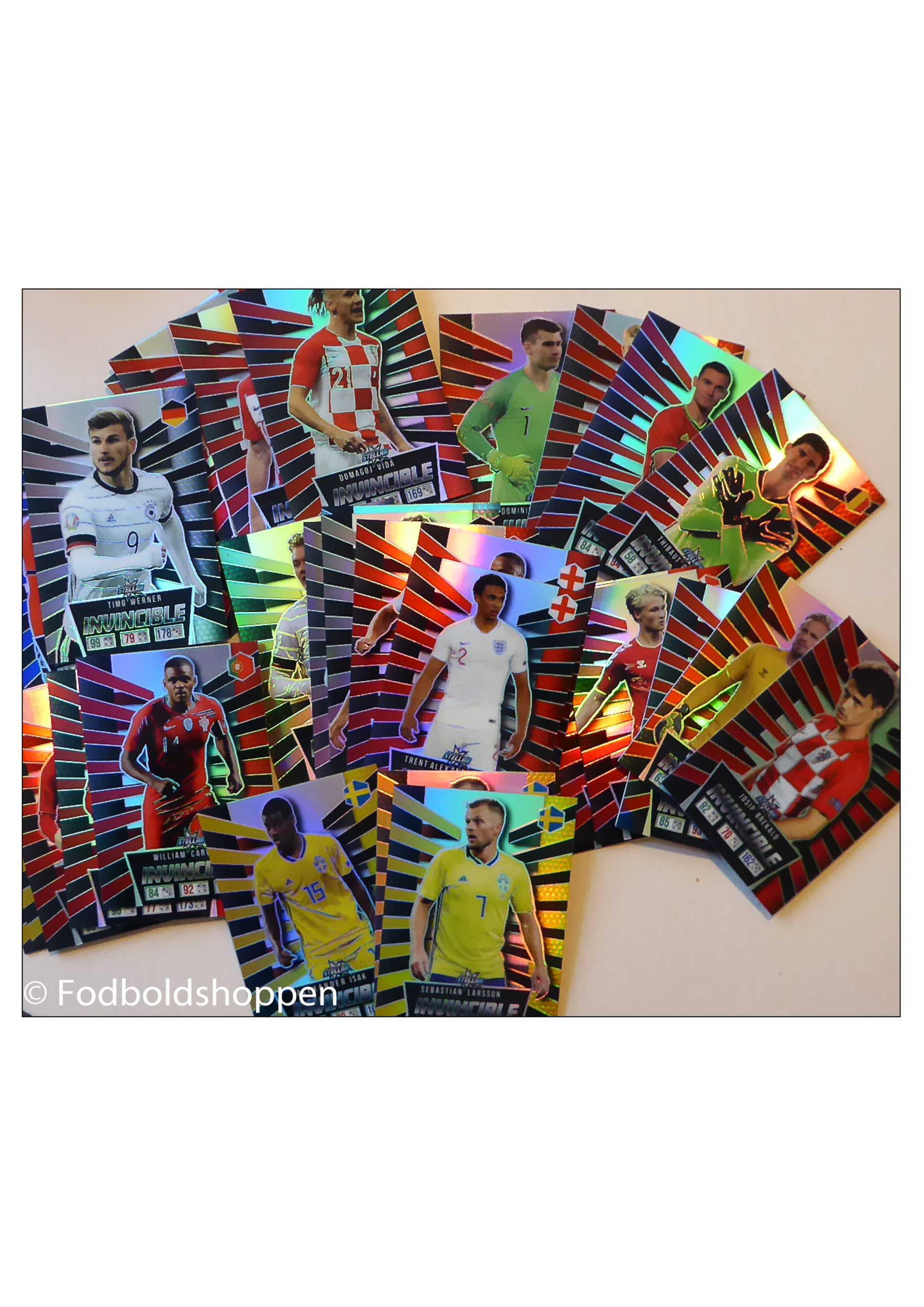 Fodboldfest Fodboldkort fra Bilka / Føtes - Stellar kort ( S- kort)
