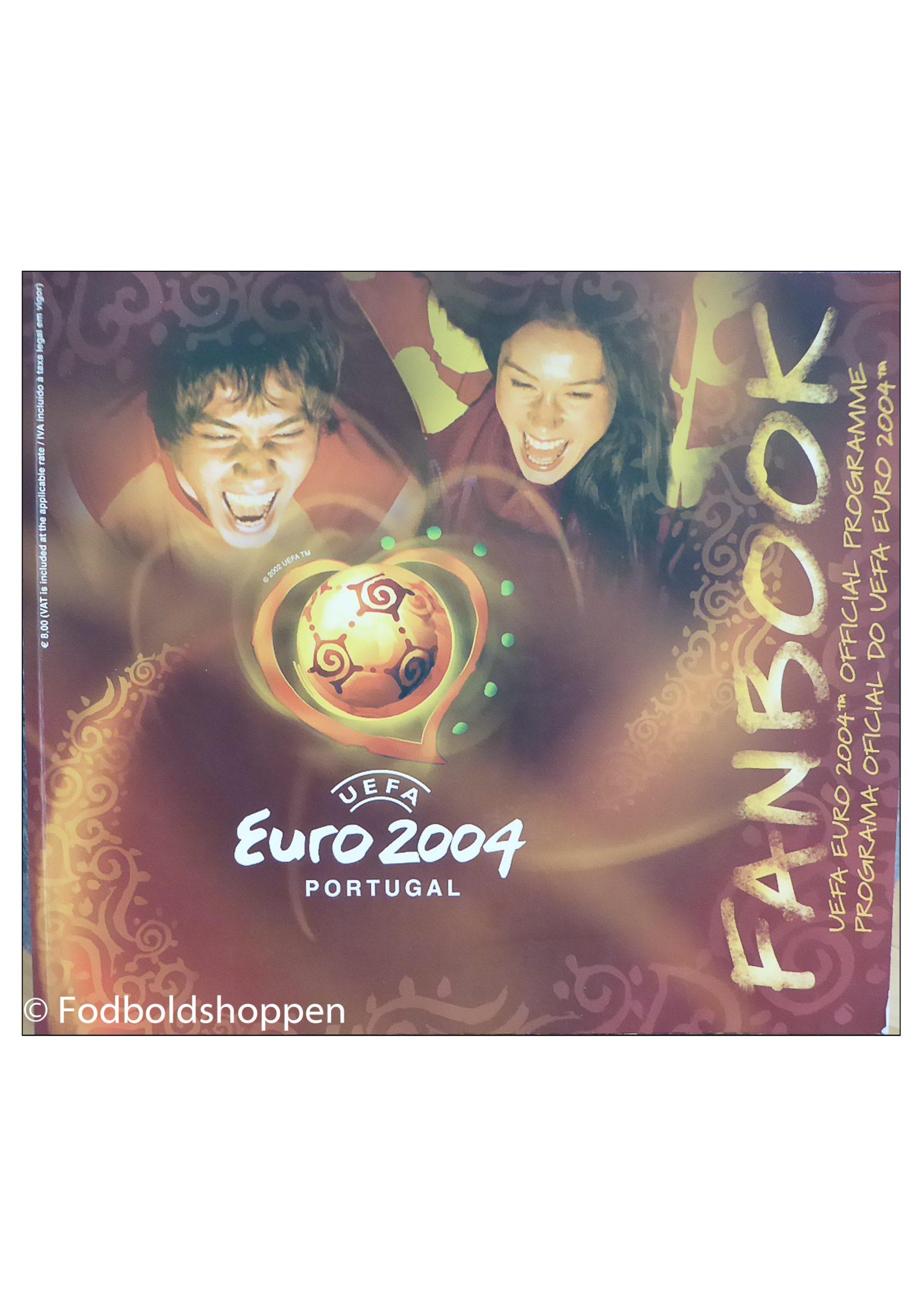 Euro 2004 Fanbook - Official Programme Euro 2004