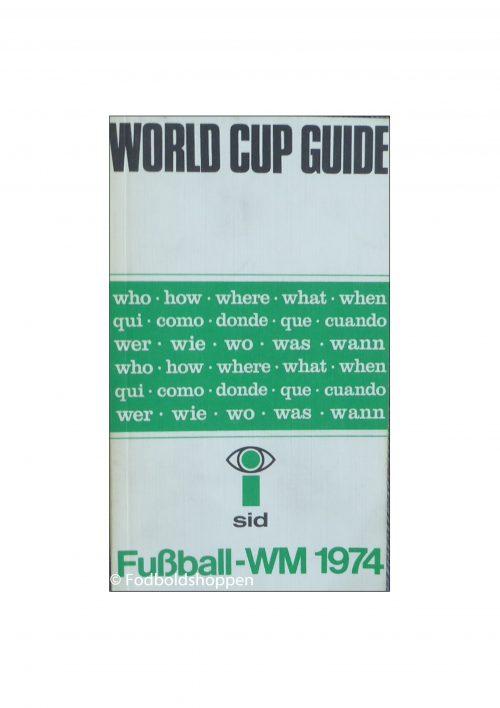 Tysk Guide til VM i Fodbold 1974