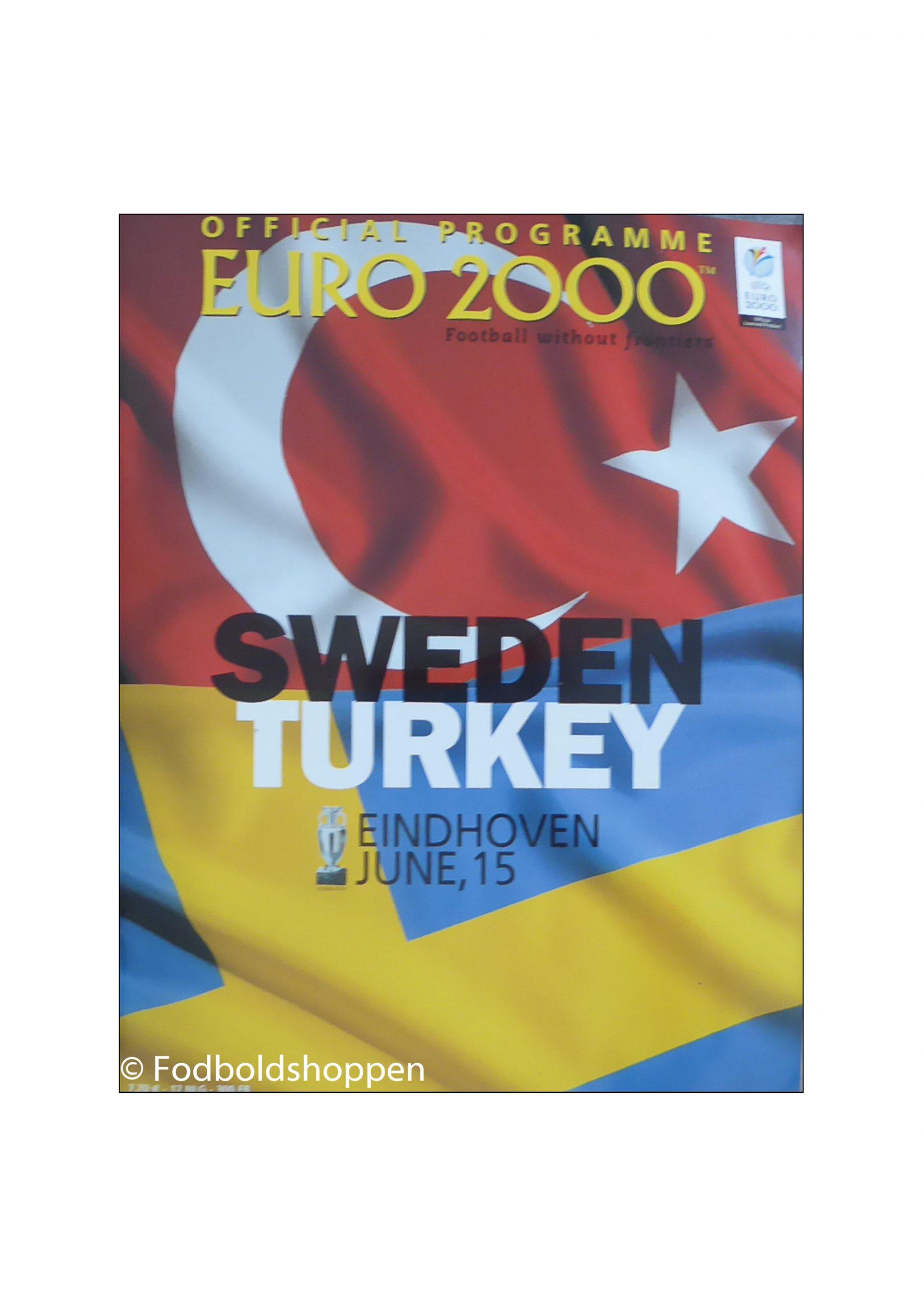 Officielt program EM 2000. 15 Juni 2000