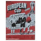 Kampprogram: EC Final 1960 - Frankfurt - Real Madrid Replica