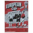 Kampprogram: EC Final 1960 - Frankfurt - Real Madrid Replica