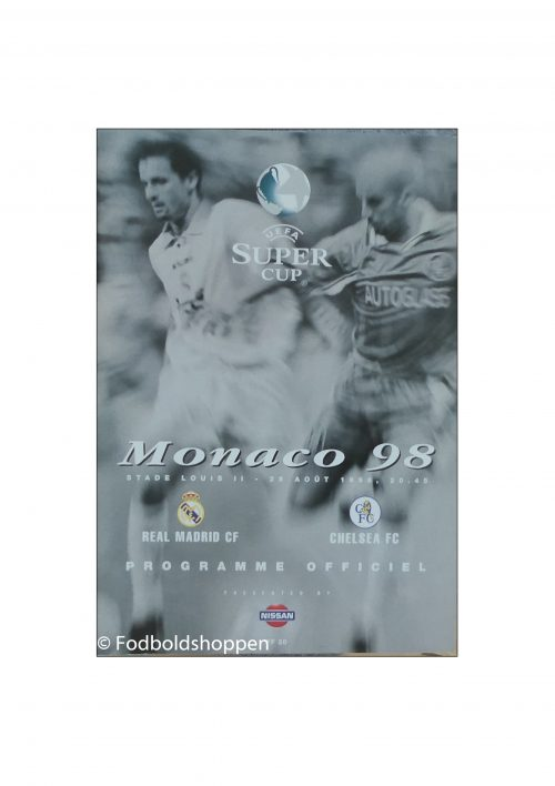 Super Cup Finale 1998 - Real Madrid - Chelsea FC