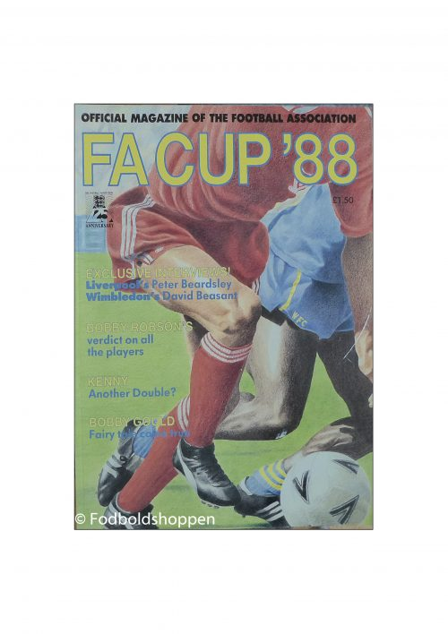 FA Cup 1988 Official Magazine