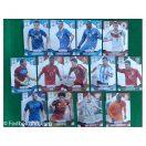 13 stk Prizm Panini Fodboldkort ( VM 2014)