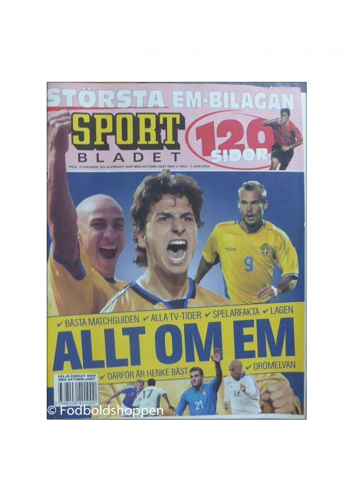 EM Guide 2004 - Sportbladet - Svensk EM Guide