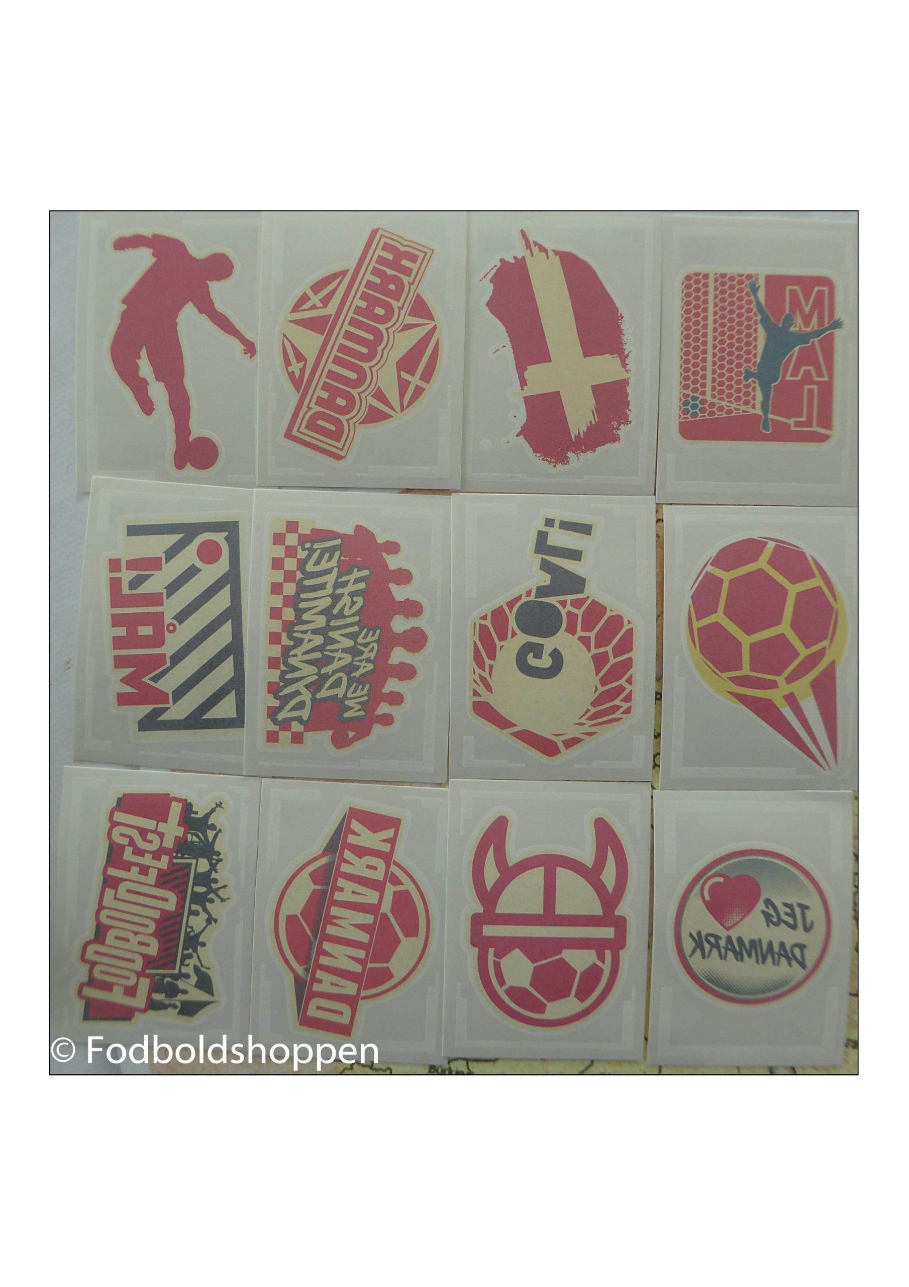 Bilka Fodbold tattoos (Bilka Fodboldfest 2020)