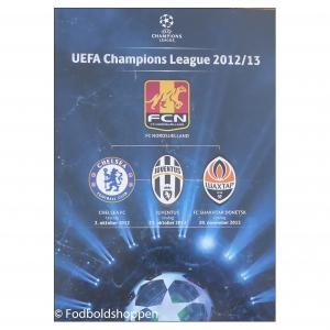 FC Nordsjælland UEFA CHL Gruppespil program 2012/13