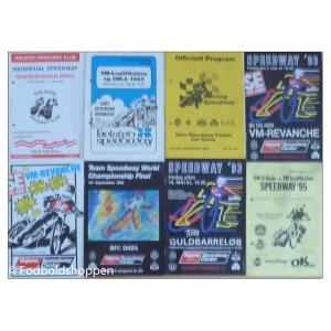 Speedway programmer i perioden 1991-1995