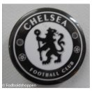 Chelsea badge sort/hvid