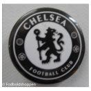 Chelsea badge sort/hvid