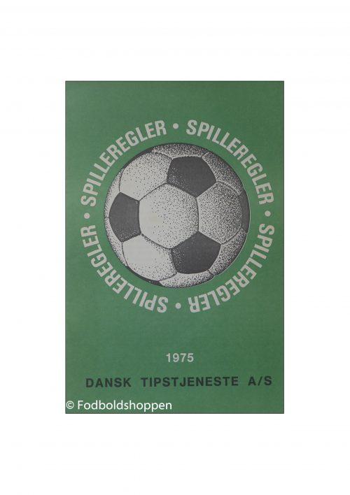 Spilleregler Dansk Tipstjeneste 1975