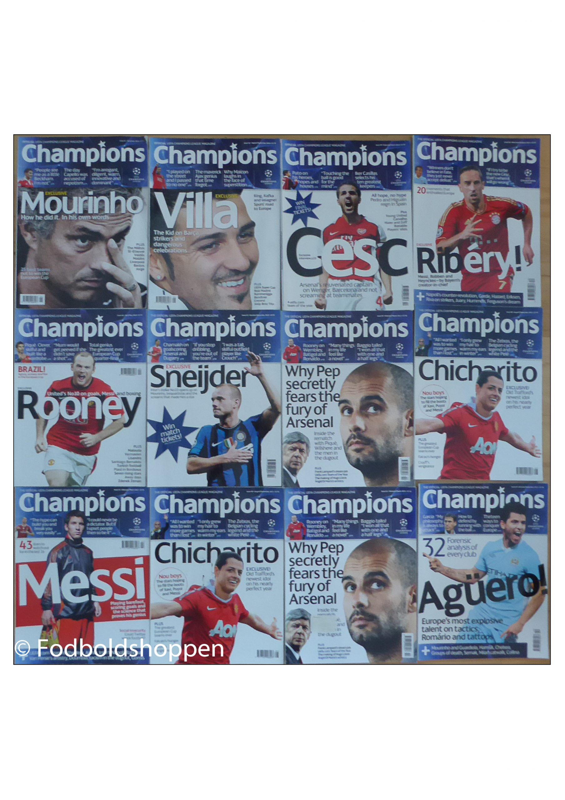 Off. Champions League Magazine - Champions