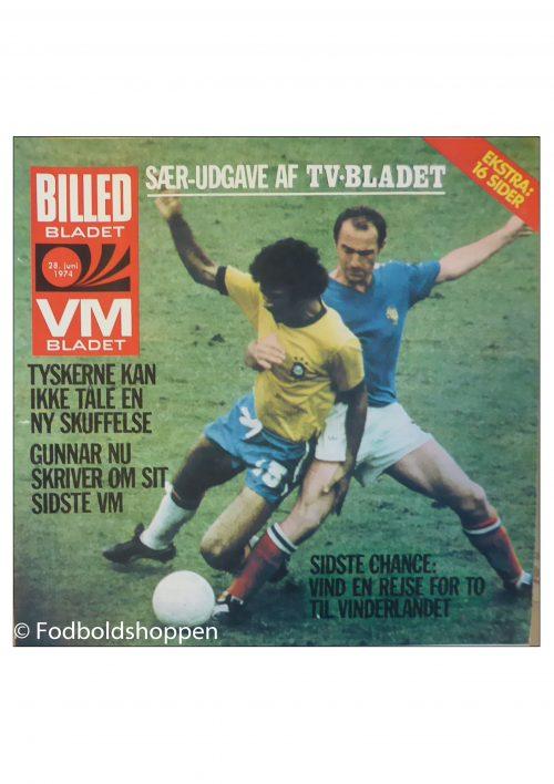 Tillæg Billed-bladet 28/06-1974 - VM 1974