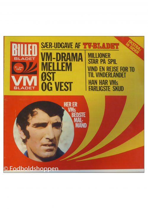 Tillæg Billed-bladet 21/06-1974 - VM 1974