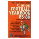 Sunday telegraph - Canon Football Yearbook 85/86