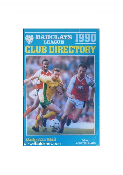 Barclays League Club Directory 1990