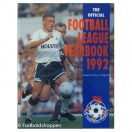 The Official Football League Yearbook 1992
