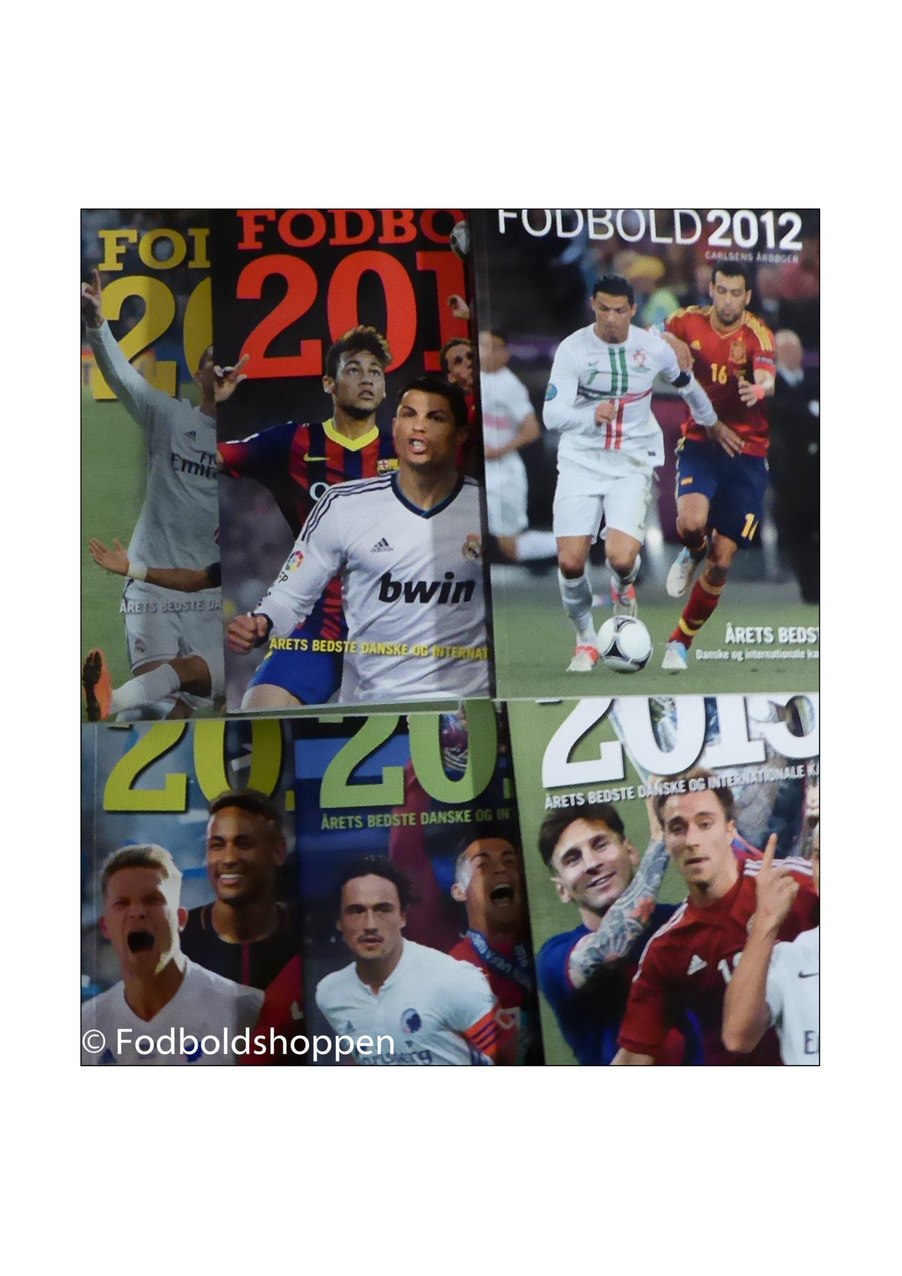 Carlsen Fodbold årbøger - Danske og Internationale kampe