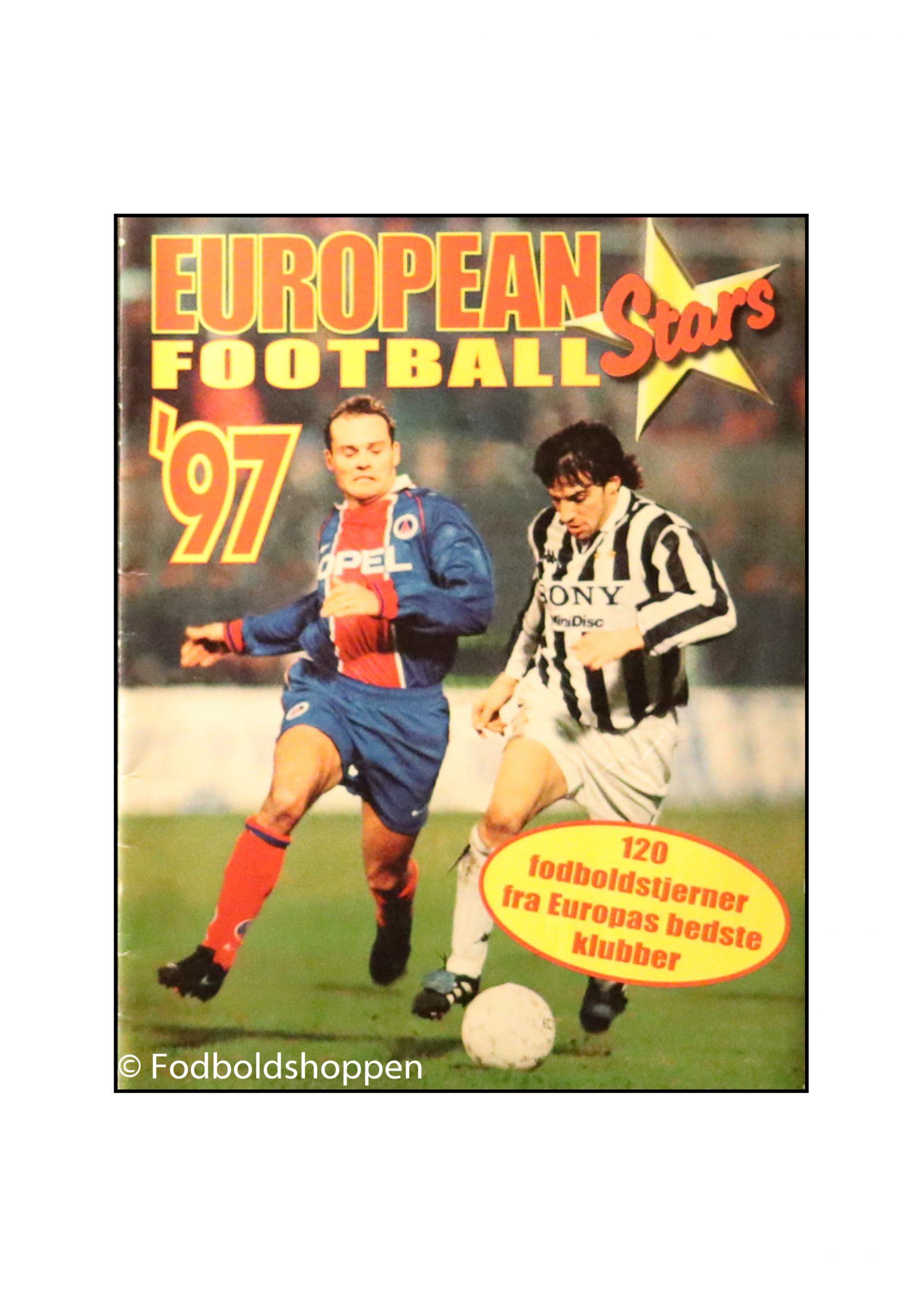 Samlealbum - European Football stars 97