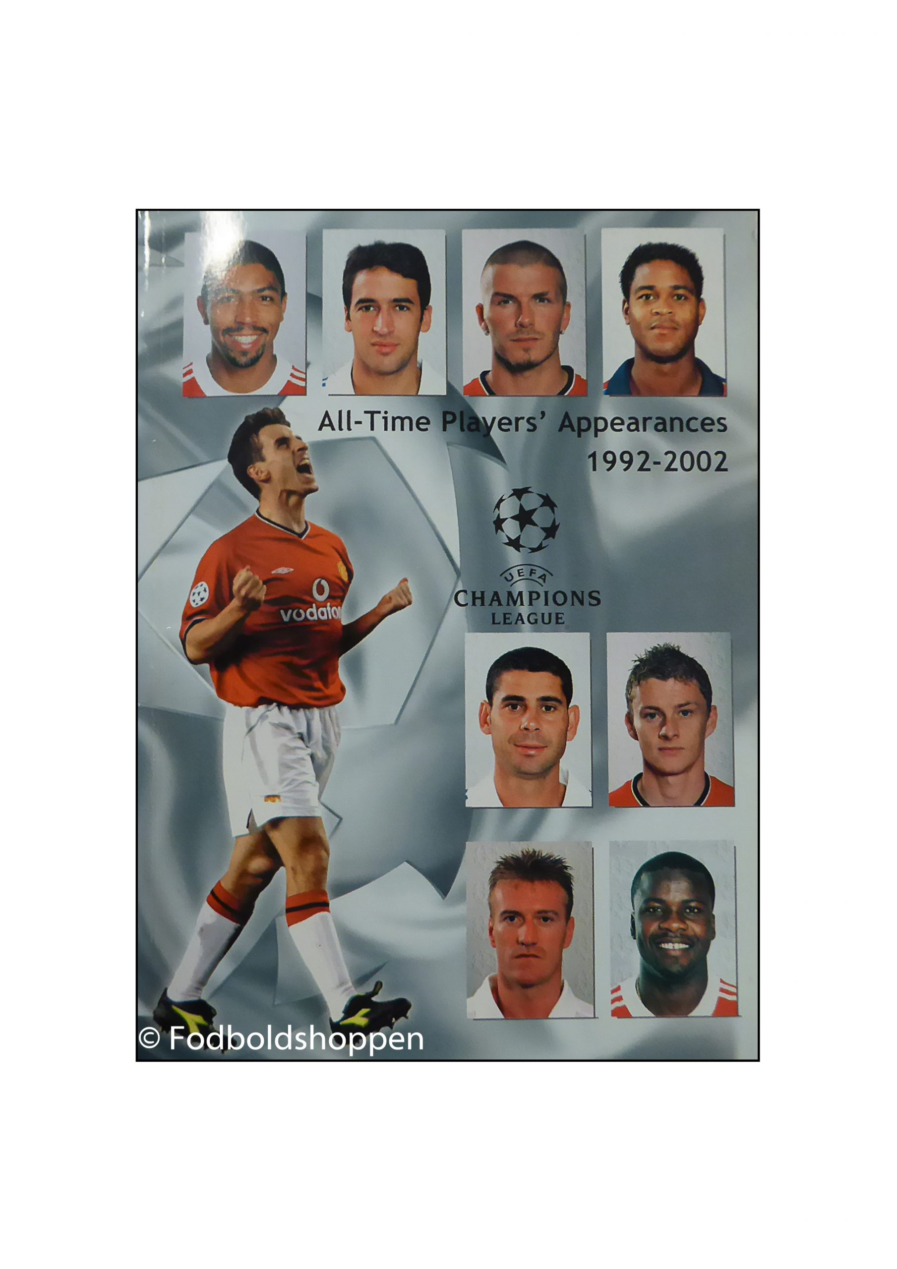 UEFA CHL - All Time Players Appearances 1992-2002