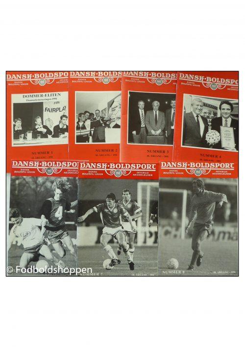 DBU meddelser samlet i små hæfter kaldet Dansk Boldsport.