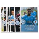 FC Roskilde Kampprogrammer - 13 stk fra 2014 - 2019