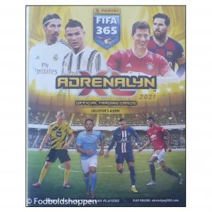 Adrenalyn XL – Fifa 365 20/21 – Samlemappe med 382 kort + 4 Limited