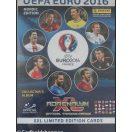 Mappe med 29 store limited fodbold kort