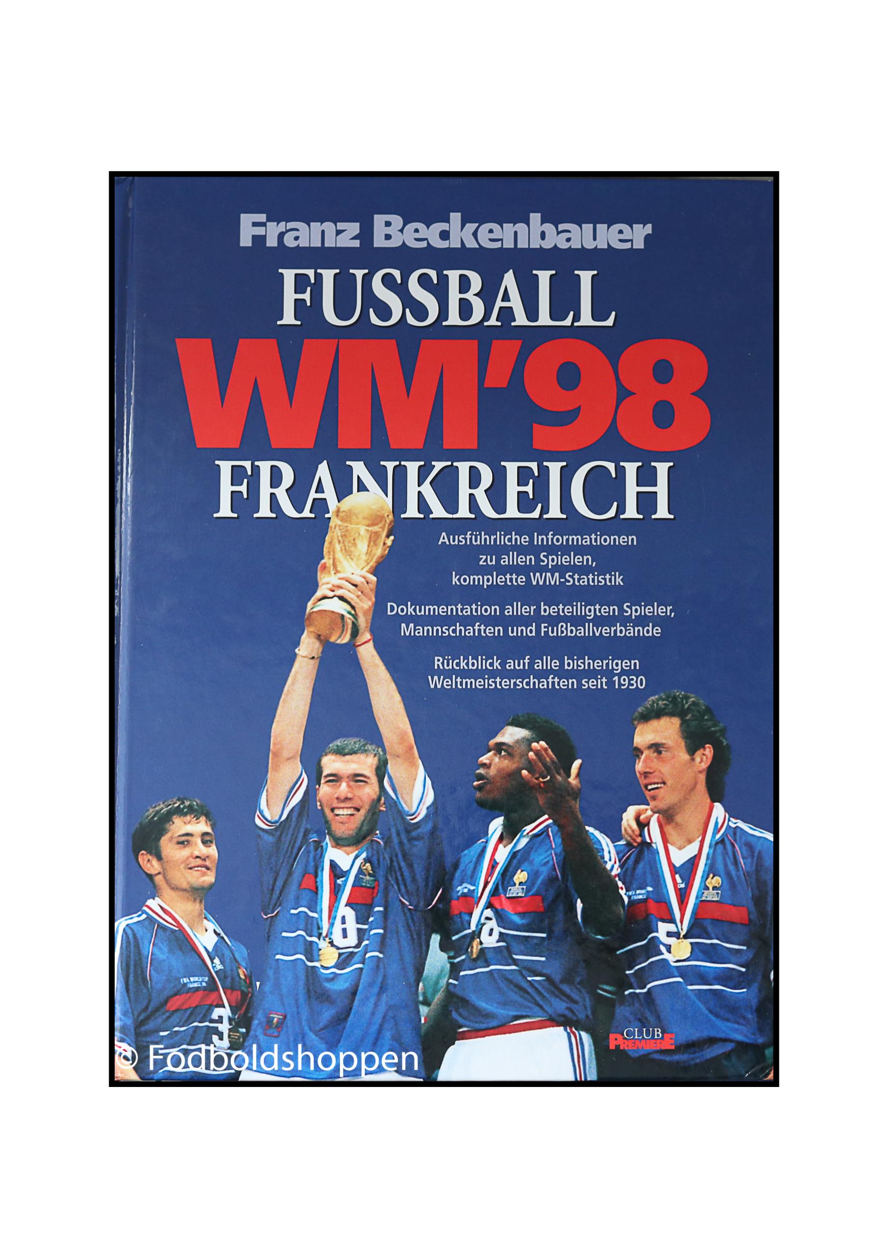 Fremragende tysk fodboldbog om VM slutrundet i 1998 som blev afholdt i Frankrig. Med oversigt over samtlige spiller med info.