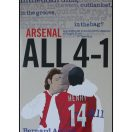 Arsenal ALL 4-1 - A guidebook to a historic season straight from the grapevine